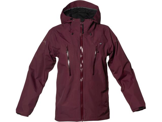 Isbjörn Monsune Hard Shell Jacket Youth bordeaux